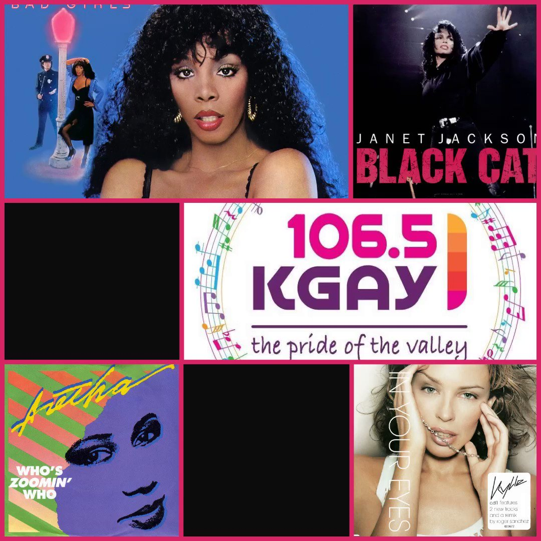 Serving classic Donna, Janet, Aretha, Kylie, & more for the @kgay1065 Retro Lunch today at Noon (PT).  #classichouse #pop #edm #disco #oldschool #djlife pic.twitter.com/W2RexzDnQs