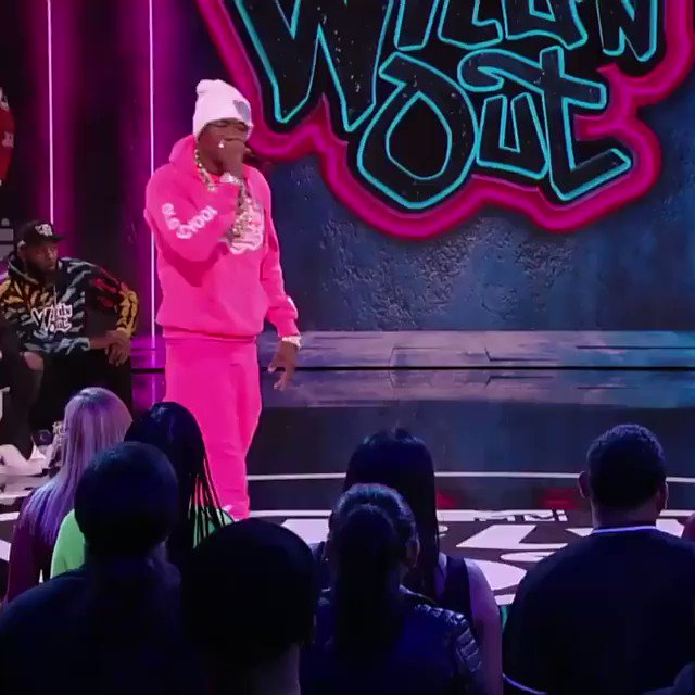 TONIGHT with an ALL-NEW episode of @WildNOut going down at 8PM only on @VH1 💥 #WildNOut @1lilKeed & @OkayKarlae performed make sure y'all check it out.