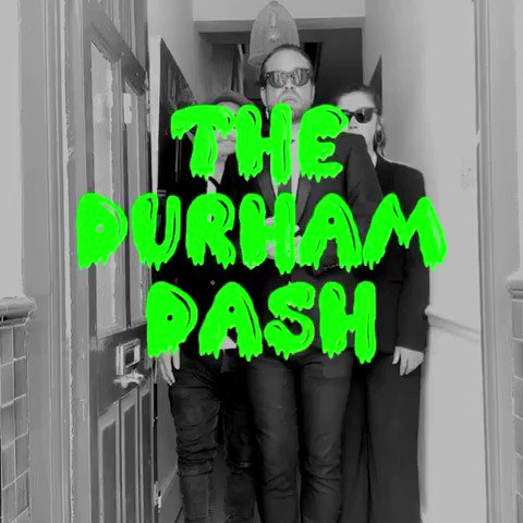LOLfest. The Monster Mash is now THE DURHAM DASH Turraaaah, Dom! ✊ Full video, click link below youtu.be/Nn_8t6iZMgc