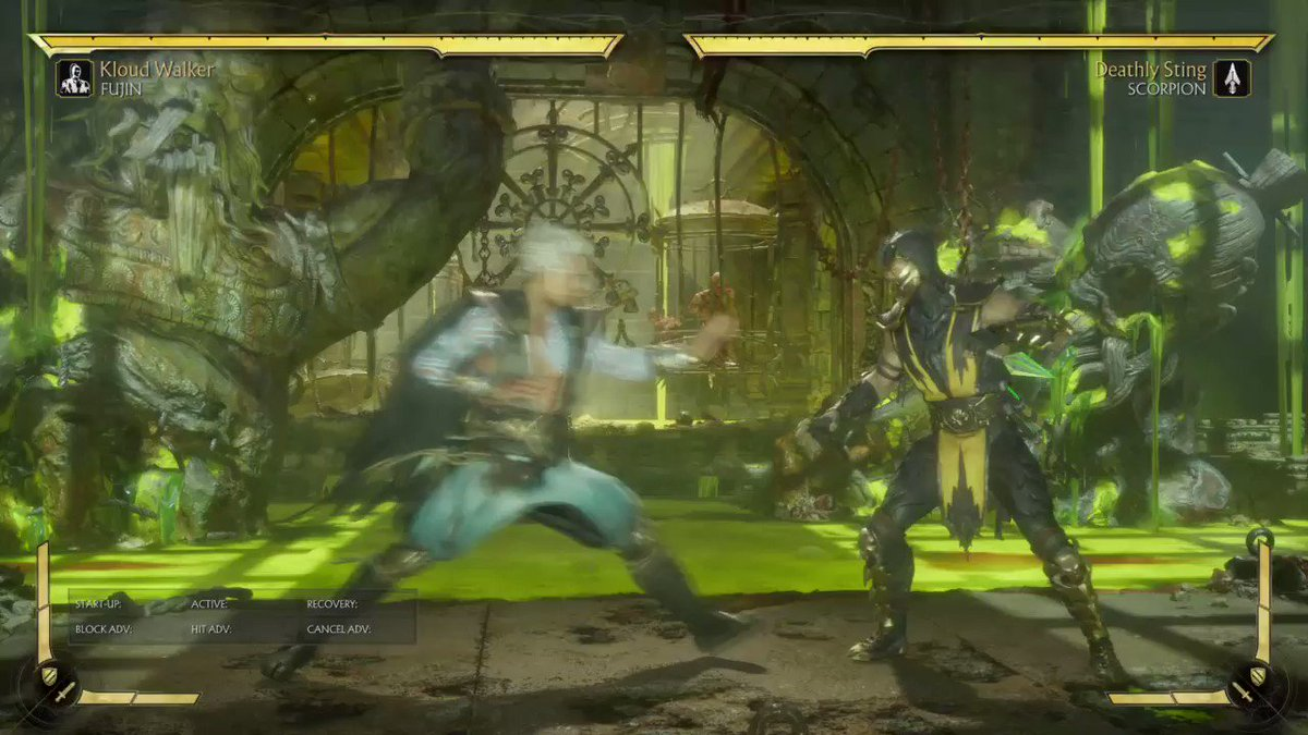 Image for the Tweet beginning: Fujin (Kloud Walker) optimal midscreen