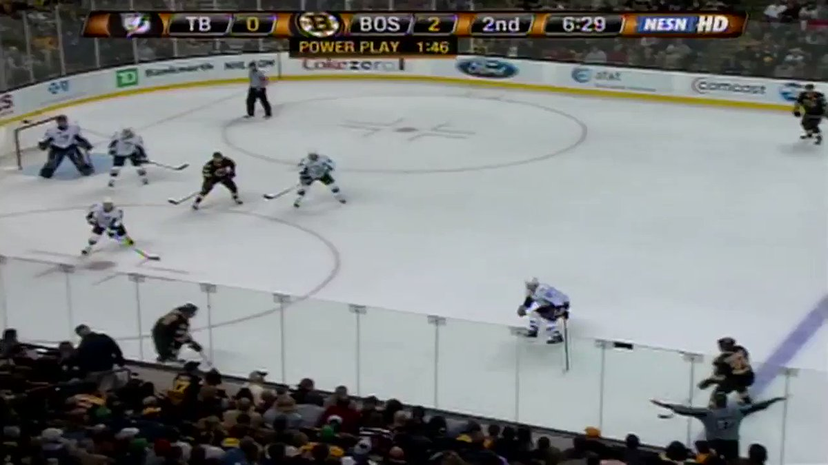 Charas done it...the Gordie Howe Hat Trick! @NHLBruins | #BruinsEncore