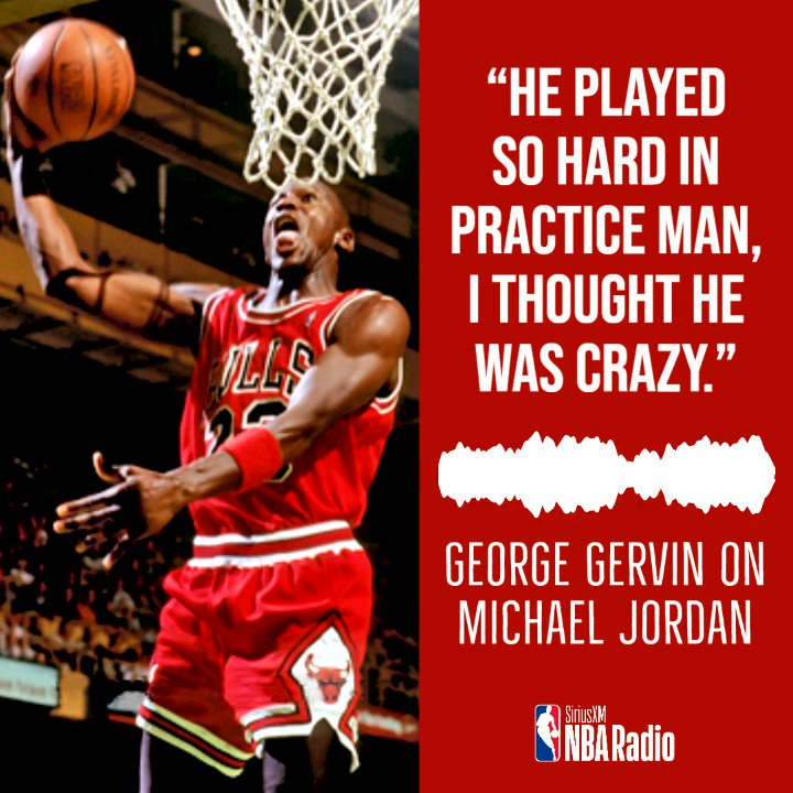 🔊 @Hoophall SF George Gervin shares with @TermineRadio & @Jumpshot8 his memories of his season with Michael Jordan and the #Bulls. https://t.co/ZrO5NpRIEs