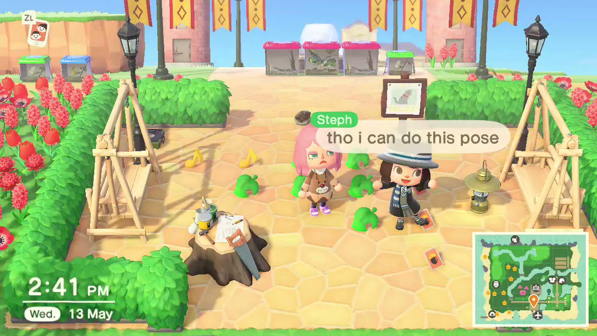 its on the left side. i though i was seeing things... @soutsui  #AnimalCrossing #ACNH #NintendoSwitchpic.twitter.com/sjezX0JMhD
