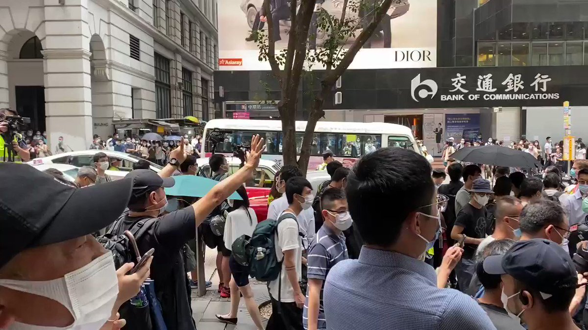 "Here you go ""HongKongers, build our nation!"" 香港人 建國"