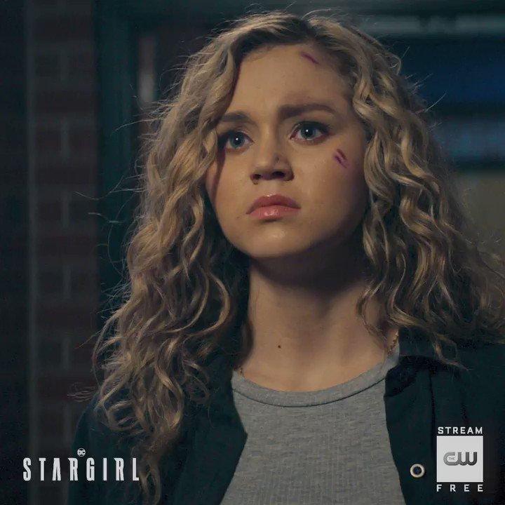 Shes not afraid. Stream a new episode free only on The CW App: go.cwtv.com/streamSTRtw #DCStargirl