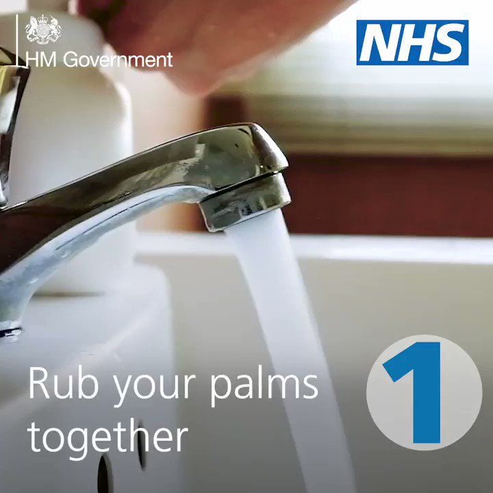 Hand washing still plays a key role in protecting yourself and others from #coronavirus. ▪️ Wash your hands more often ▪️ Use soap and water for 20 seconds ▪️ Or use hand sanitiser Tips on hand washing technique here: nhs.uk/live-well/heal…