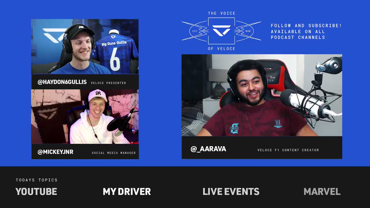Who's getting their fix of the latest 'My Driver' series?  The full episode with @_aarava is linked here: https://t.co/ZESuAS3H00  Hosted by @Haydon6Gullis & @MajojoLive https://t.co/XflU6IOimN