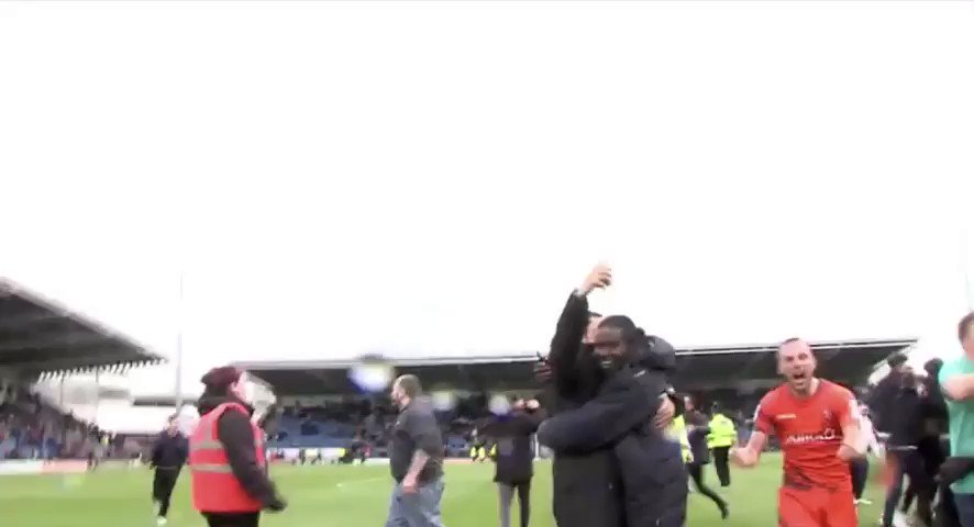 I think Michael was happy about promotion @wwfcofficial  #freelance #football #cameraman #handheldspecialistpic.twitter.com/MNMREv7uEo