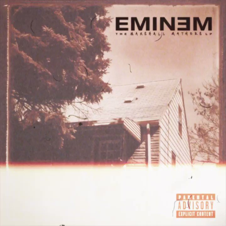 Listen to the live stream of The Marshall Mathers LP on the site - I'll be in the chat! 3PM ET
