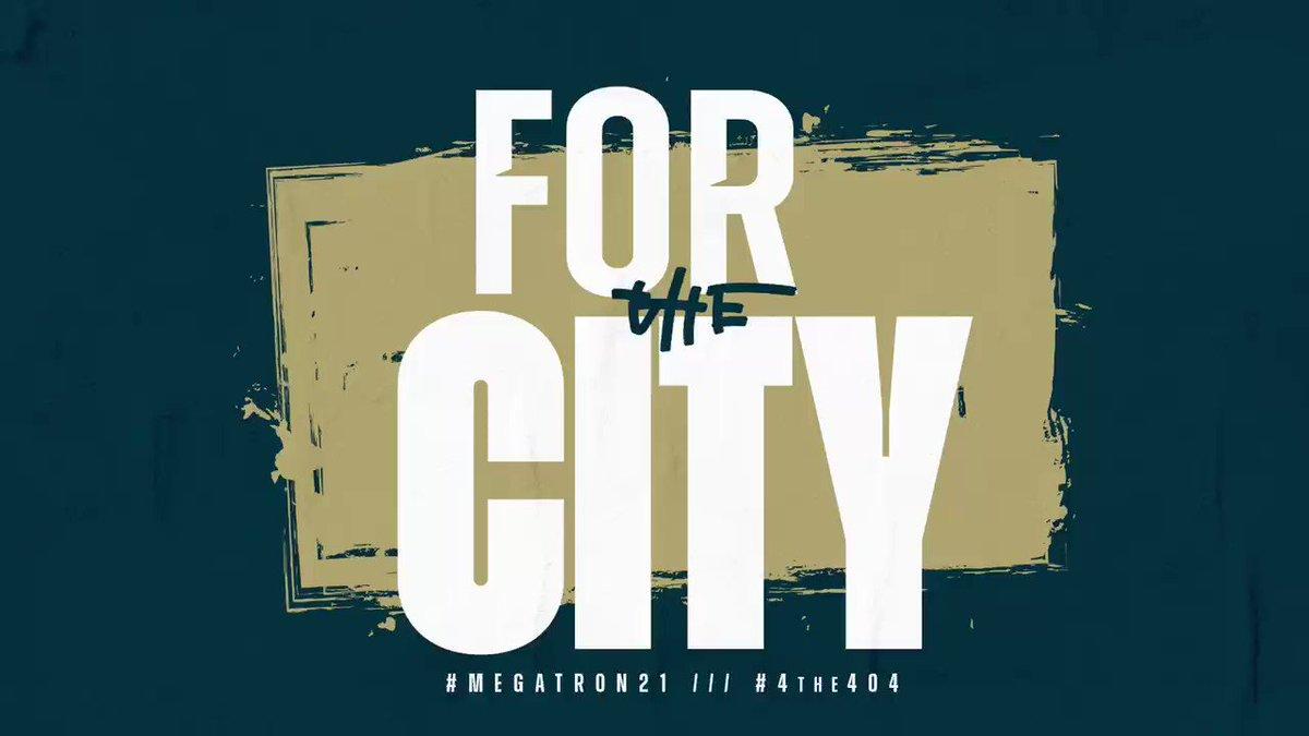PUT ON for MY CITY!!! #4the404 #meGaTron21 4️⃣0️⃣4️⃣ @Coach_K2