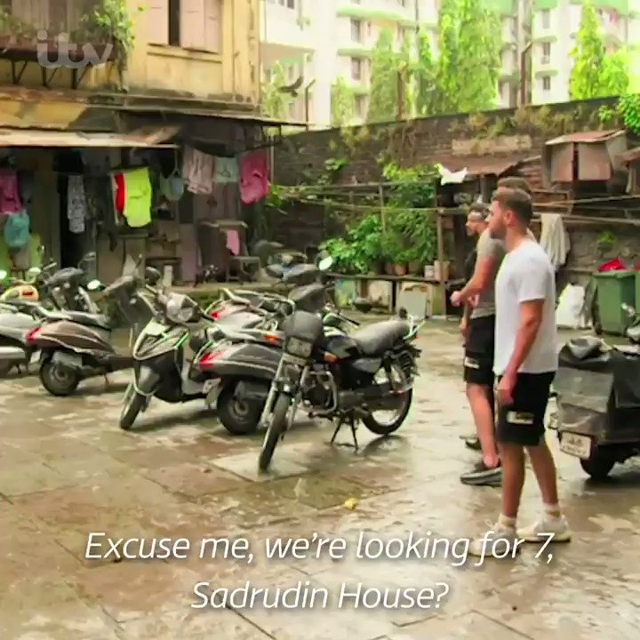 The Thomas brothers visit their grandad's former one-room house, which he shared with his brother, two sisters, mum and dad. Absolutely India: Mancs in Mumbai continues tonight at 8pm on ITV and @ITVHub: bit.ly/2YUfsDQ @ryanjamesthomas @adamthomas21 @scottyspecial
