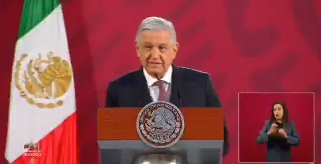 Image for the Tweet beginning: 🔴 El presidente @lopezobrador_