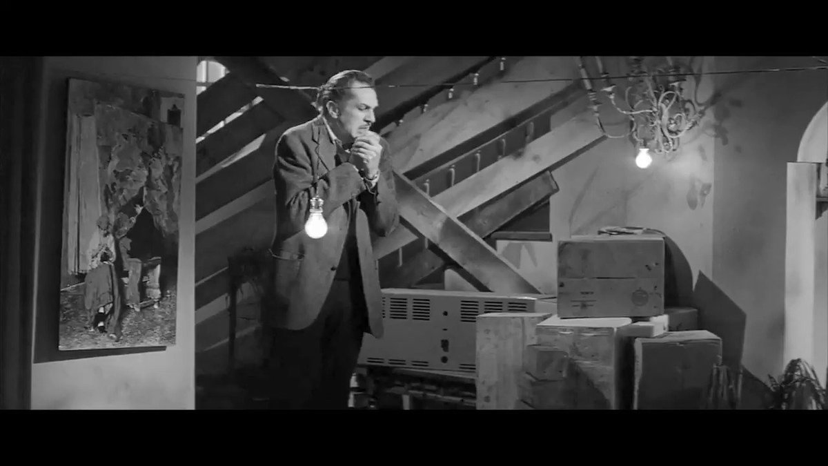 """""""And now 12 long hours before the sun will rise and drive them back to darkness""""   #VincentPrice (May 27, 1911 St. Louis, Missouri - October 25, 1993 Los Angeles, California) #BornOnThisDay  * The Last Man on Earth (1964) / Ubaldo Ragona, Sidney Salkow https://t.co/LoeCHmfTOf"""