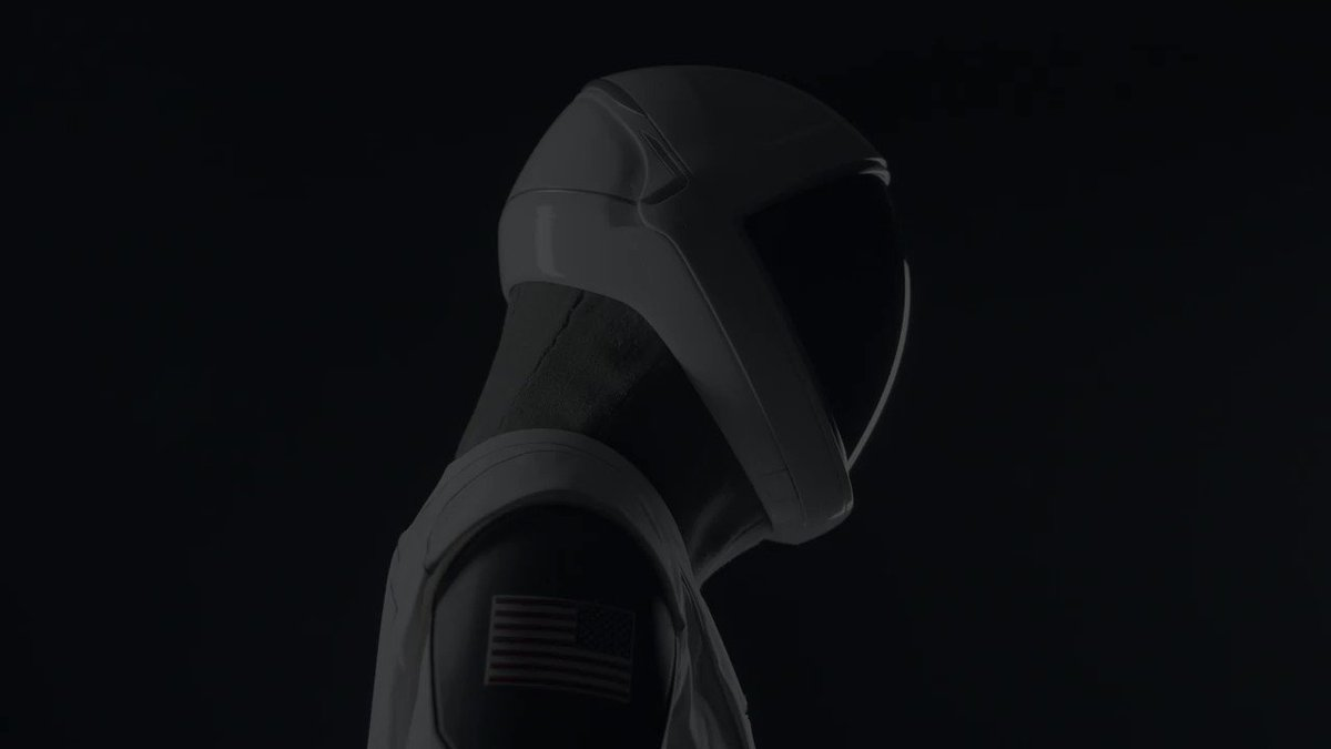 SpaceX spacesuits are designed for optimum functionality with Dragon https://t.co/QW4DirDirx