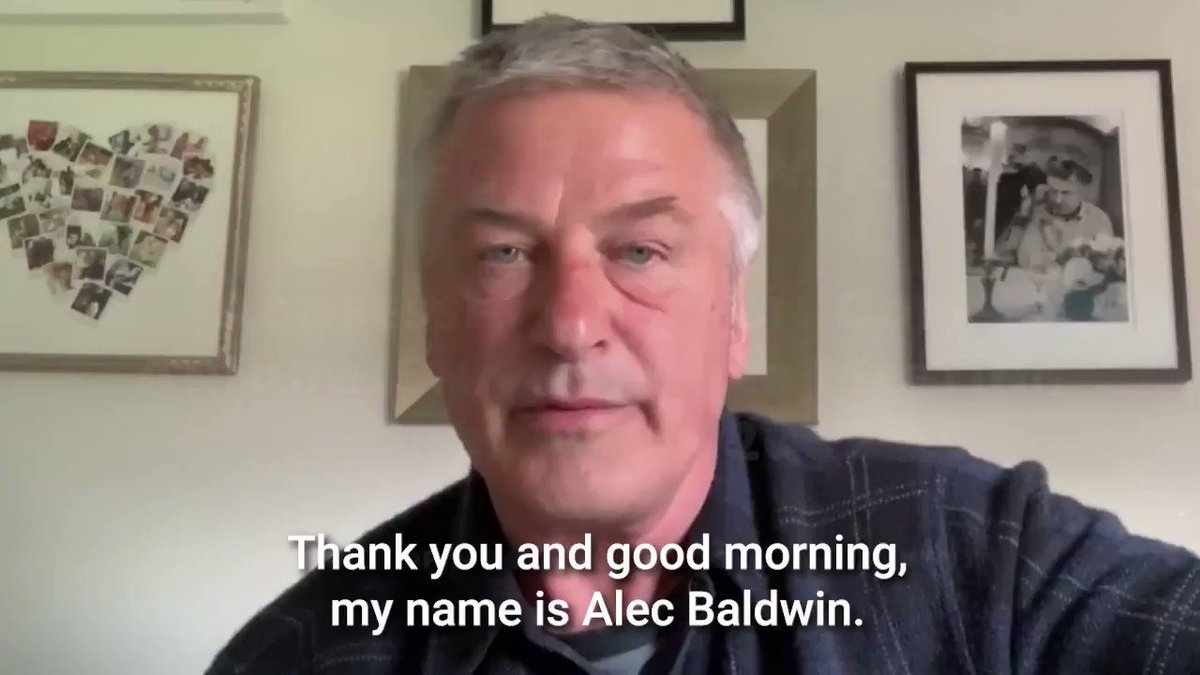 Minutes ago this video from Alec Baldwin was played before Chevron CEO Michael Wirth and the companys Board regarding their disastrous pollution in Ecuadors Amazon. Alec accused Wirth of misappropriating funds to attack me personally and of failing to protect shareholder value.