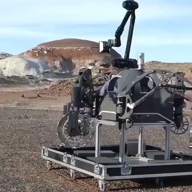 Germany's space agency is testing new rovers to explore other planets.  @cheddar @DFKI #Robotics #AI #MachineLearning #4IR  @SpirosMargaris @jblefevre60 @diioannid @RobCrasco  @andi_staub @Ym78200 @JGrobicki @ramonvidall  @jeffkagan @mvollmer1  @GlenGilmore @antgrasso https://t.co/kQ6m008thu