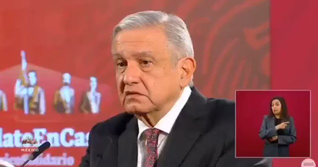 Image for the Tweet beginning: 🔴 El presidente @lopezobrador_ retoma