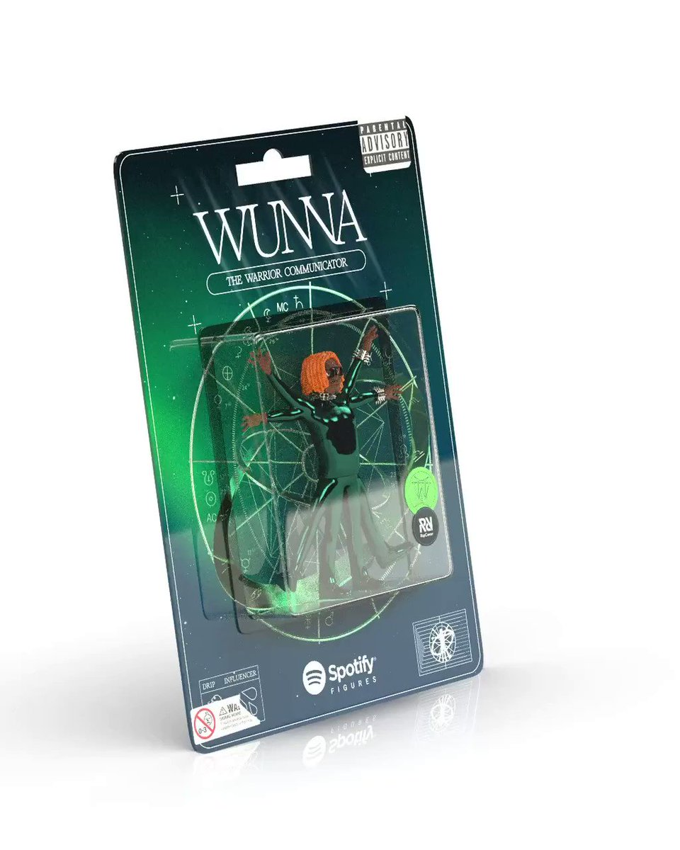 NEW #WUNNA ACTION FIGURES @spotify #RapCaviar ♊️ https://t.co/bU9AopawAB