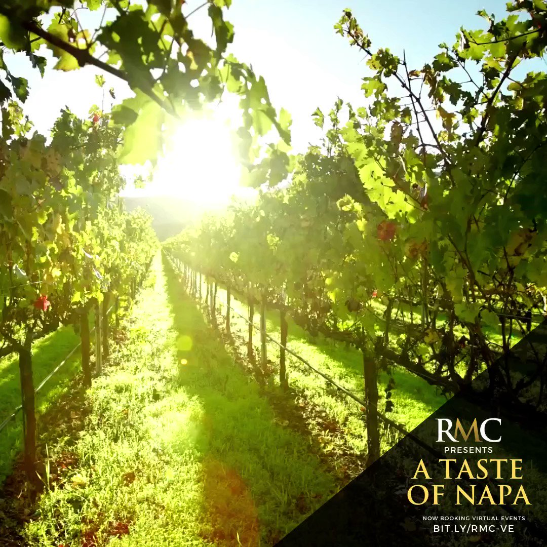 RMC has exclusive access to several new must-try virtual experiences for groups of all sizes, including one-to-one blending sessions with Shadybrook Estate Winery's winemaker, Rudy Zuidema! Taste the best of #NapaValley & inquire today: https://rmcdmc.com/featured/blendfest-with-winemaker/…pic.twitter.com/jQpfcc5xKy