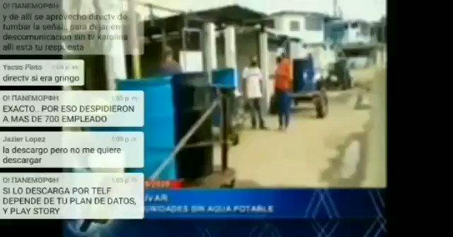 Hoy #27Mayo estuve Denunciando a través del Noticiero de Venevision la Problemática del agua que vivimos los habitantes de #CiudadBolivar @partidoUNTpic.twitter.com/pLW5QpdWIU