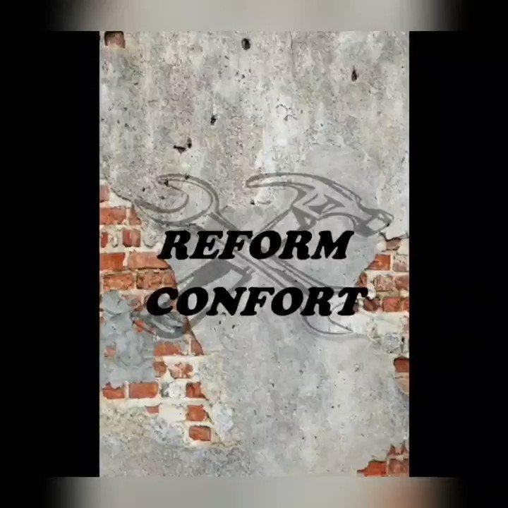 ReformConfort #reformas #cambios #pintura #electricidad #albañileria #carpinteria  #cocinas #pladur #feliz #comodo #presupuestopic.twitter.com/LC3XG71bQB