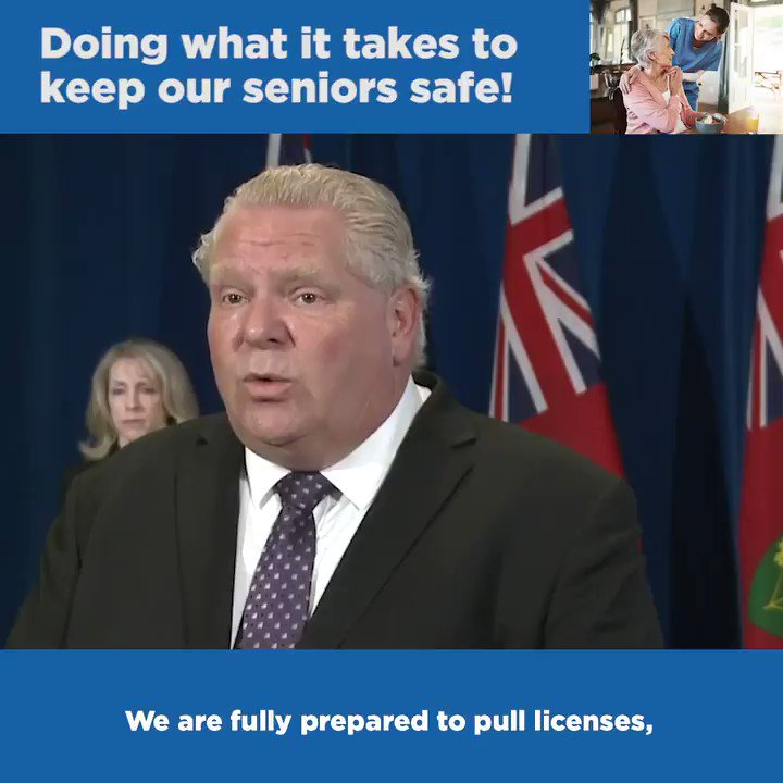 We will do whatever it takes to keep our seniors safe. Today I announced further action in Ontario's long-term care system including expediting our recently announced independent commission that will be open and transparent with public hearings, witnesses and a public report.pic.twitter.com/seRdXFmaCY
