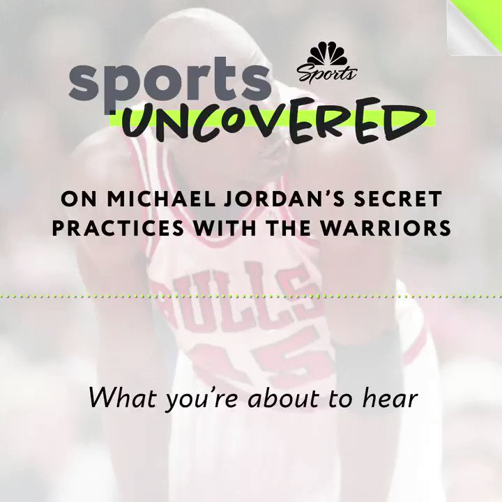 What youre about to hear hasnt been detailed in 25 years. The #SportsUncovered Podcast tells the story of Michael Jordans secret workouts with the Warriors. Listen wherever you get your podcasts: link.chtbl.com/Chicago2
