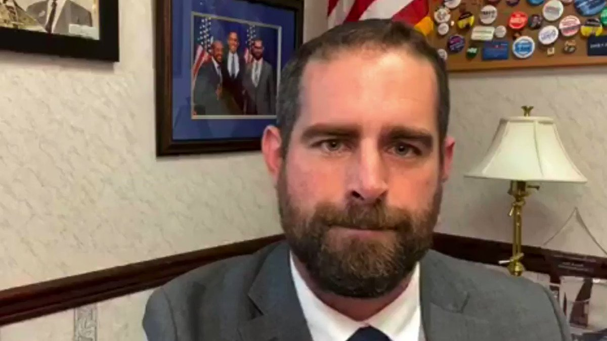 .@BrianSimsPA: Holy shit. It's not your business to put my life at risk. It's not your business to put the lives of the CHILDREN of our members at risk-- of the SPOUSES of our members at risk.