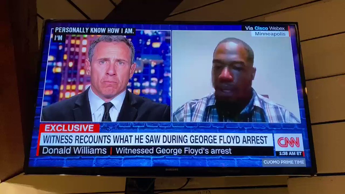 If what Donald Williams says doesn't break your heart, you might not have one.  #JusticeForGeorgeFloyd https://t.co/bPIQhJzQJR