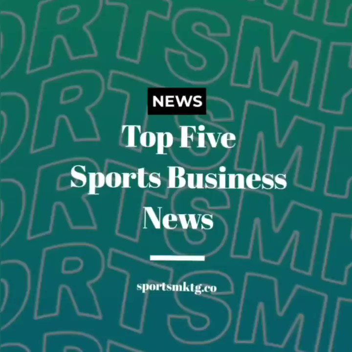 📰 Todays Top Five Sports Business News featuring: ✅ Fnatic India X One Plus PUBG tournament with Indian cricketers and more #SportsBiz #SportsMarketing
