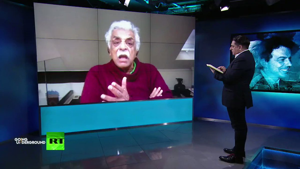 In the West, they still cant decide whether to maintain sanctions against Iran🇮🇷 or Venezuela🇻🇪 which is completely disgusting -@TariqAli_News on US sanctions during the #Coronavirus pandemic Full interview & more content like this on our channel: youtu.be/KlO26HryFbA