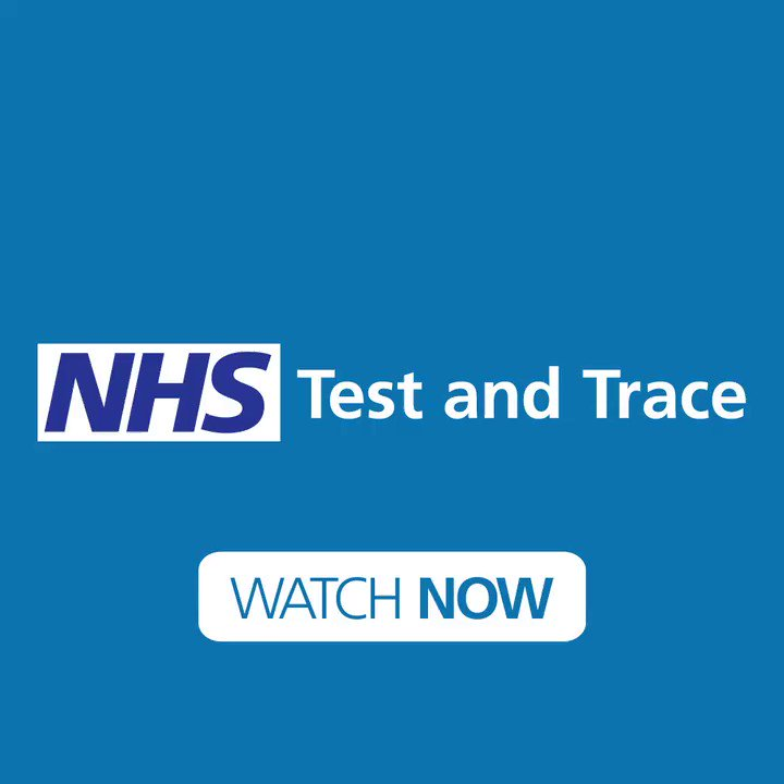 The NHS Test and Trace service has been launched today. You can play your part to help control the virus and get life back to normal. Find out more: gov.uk/guidance/nhs-t…