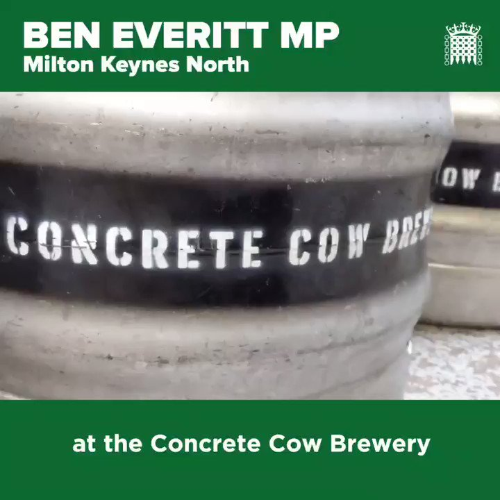 🍻 Fab news @ConcreteCowBeer are back and delivering hand-crafted pints to your door in MK! A little reminder of my visit earlier this year 👇 #LoveMK