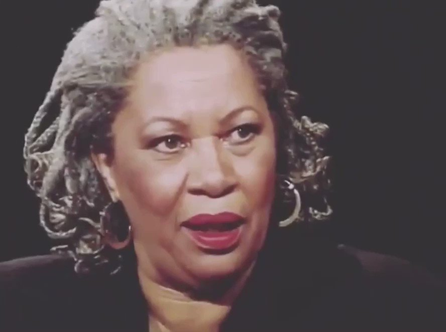 A word from the Queen: Toni Morrison