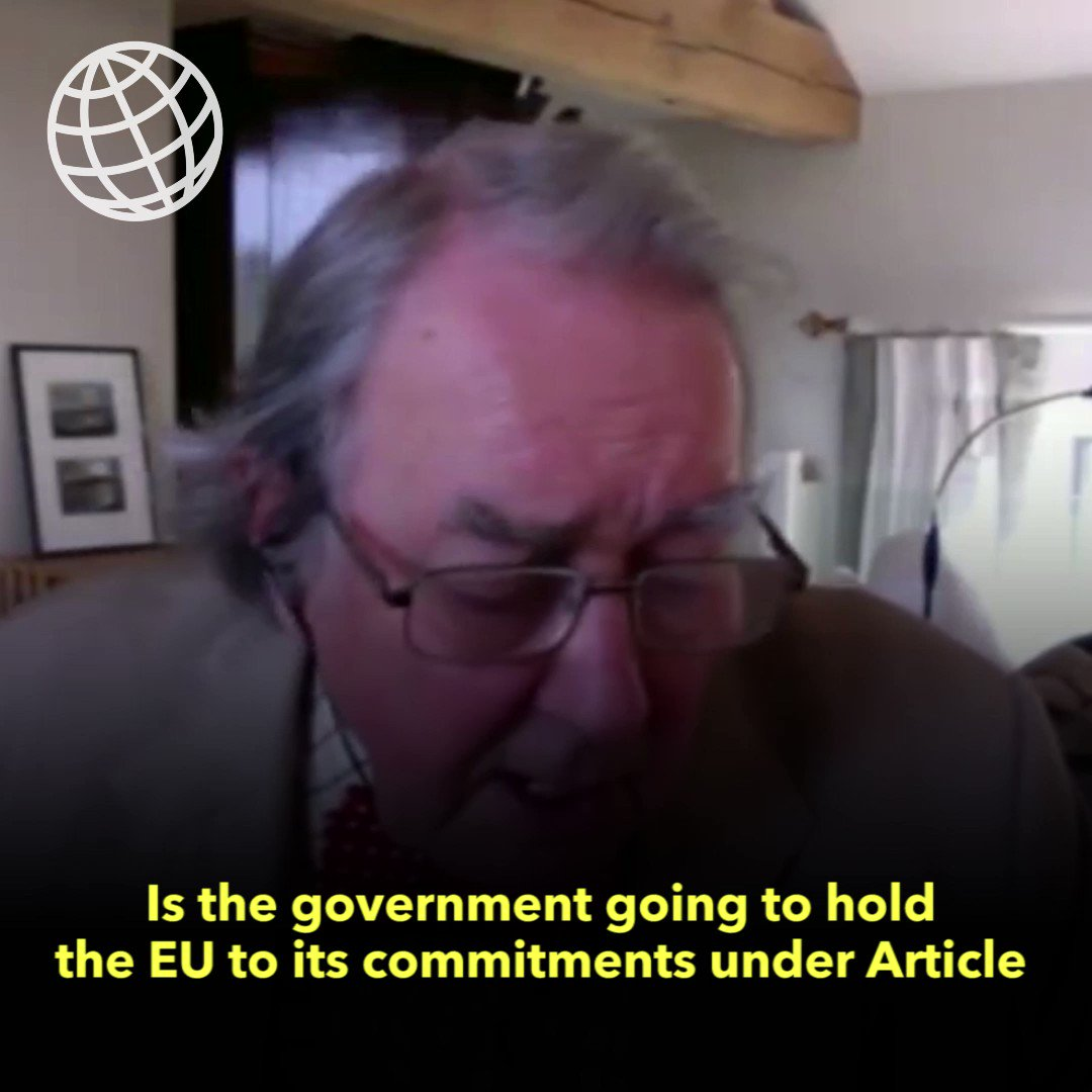 '@michaelgove has confirmed to the Lords' European Union Select Committee that the government will hold the EU to its commitments to work on alternatives to supersede the [Northern Ireland] Protocol, to ensure they do not become permanent.