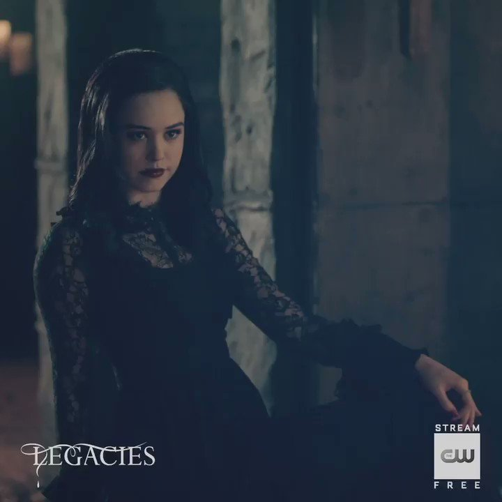 Kind of short for an almighty Necromancer. Stream free only on The CW: go.cwtv.com/streamLGCtw #Legacies