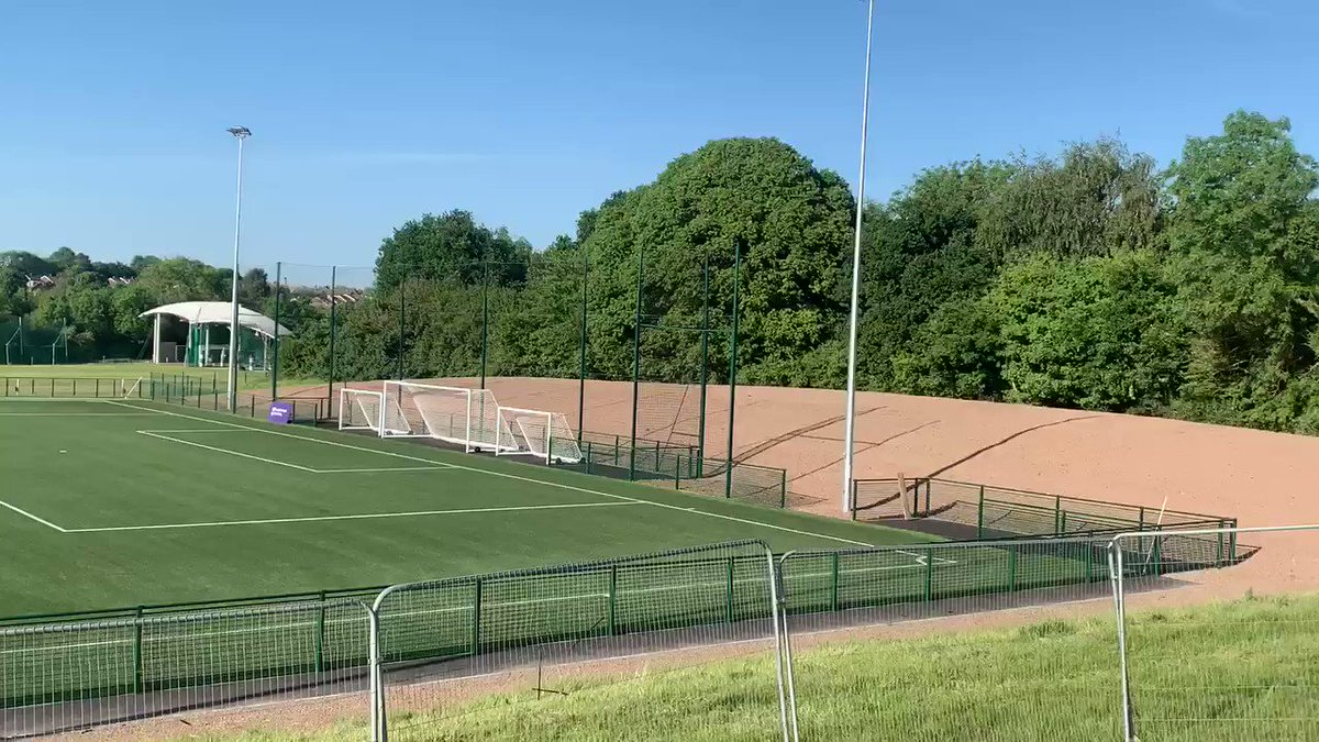 Image for the Tweet beginning: The newly installed 3G pitch
