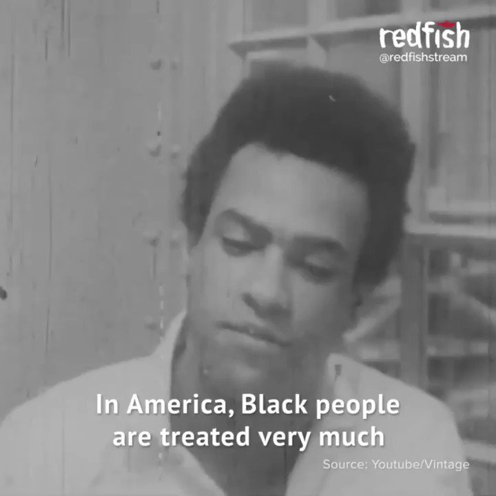 Black Panther leader Huey P. Newton explains how the police in the United States are like an occupying army in Black communities.