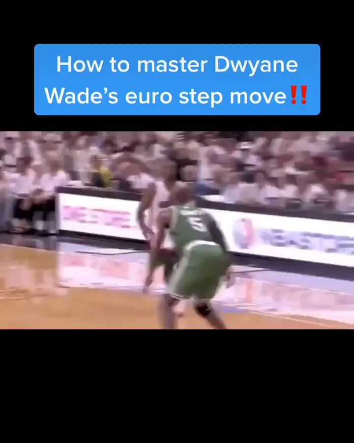 How to master @DwyaneWade signature euro step❗️