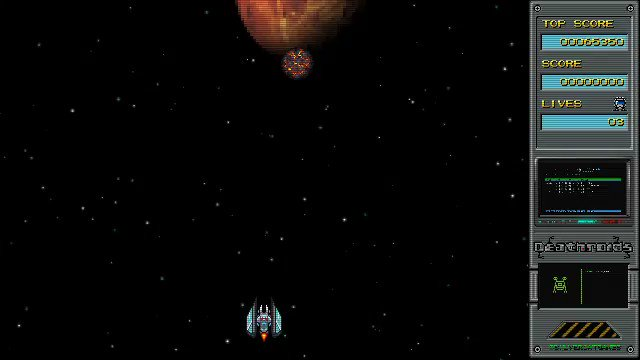 What you think about the level 3 boss ? #deathroids #silvercatgames #retrogaming #gamedev #indie #indiegame #indiegamedev #pixelart #shmuppic.twitter.com/1wjkhgYsKi