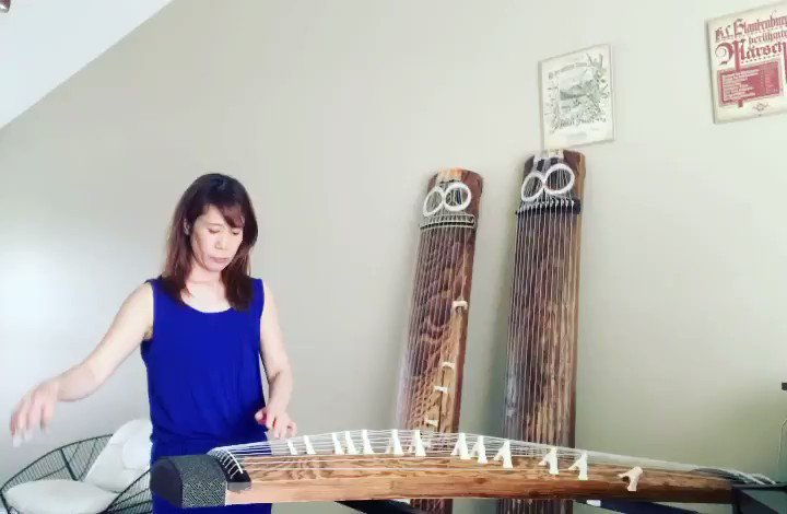Please remember warm feelings in the scenery in your mind's eye.     #chicago #japanese #koto #performer #musician #piano #箏 #ピアノ #シカゴ #琴pic.twitter.com/nrIu75YbOi