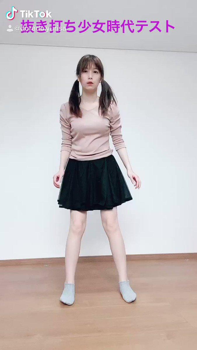 藤田社長はご覧になっていないですが、TikTokでまさかのプチバズりした動画はこちらです。少女時代さん大好きなんです!抜き打ちでGenie踊ってみた。