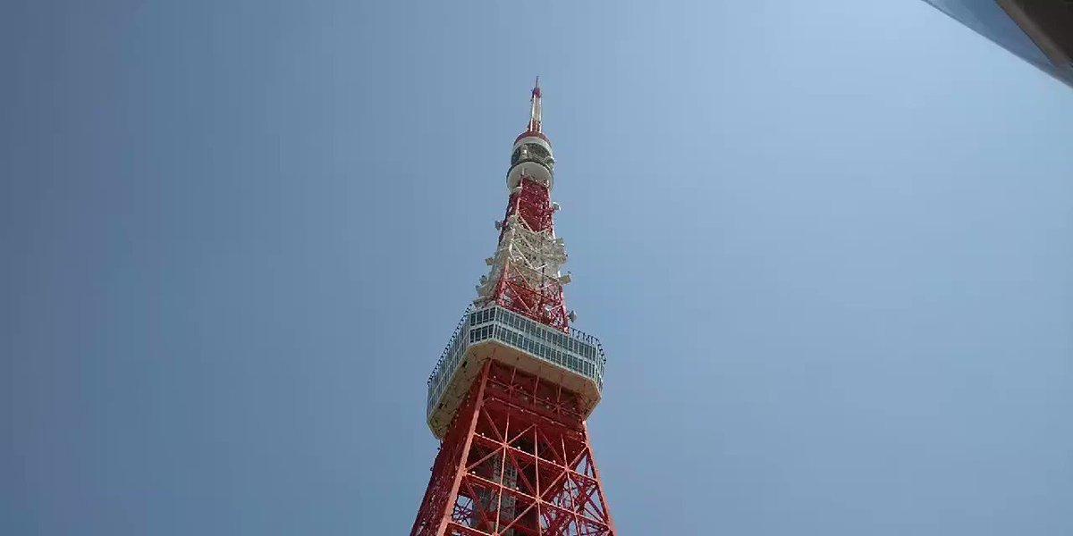 東京タワーで観ました!医療関係ではありませんが、仕事上出社してます!ありがとうございます。#ブルーインパルス #みてくれ太郎