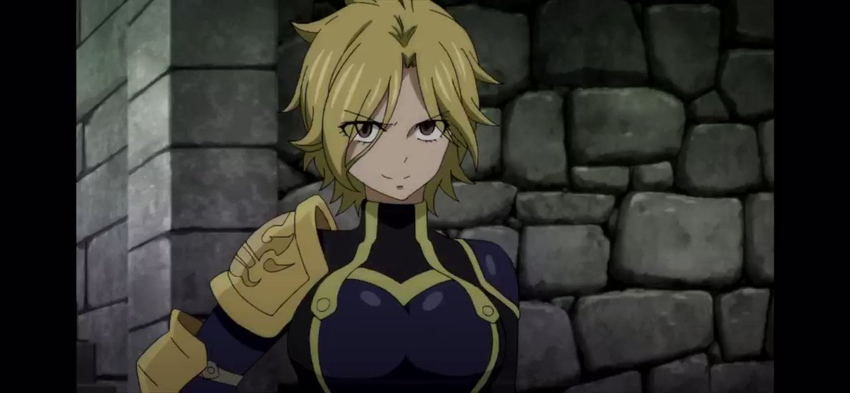 The level of nonchalant that she has doing this is absolutely unbelievable XD I'm in love #FairyTail pic.twitter.com/61lKhHsCbG
