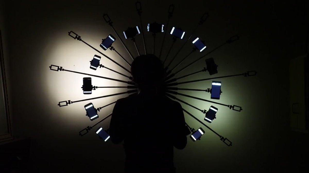 Image for the Tweet beginning: Capture, dispositif de concert interactif