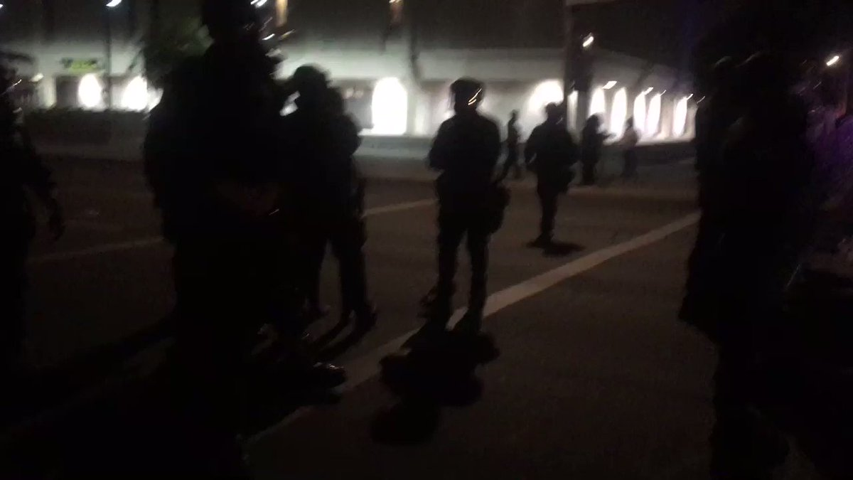 Police just arrested one person
