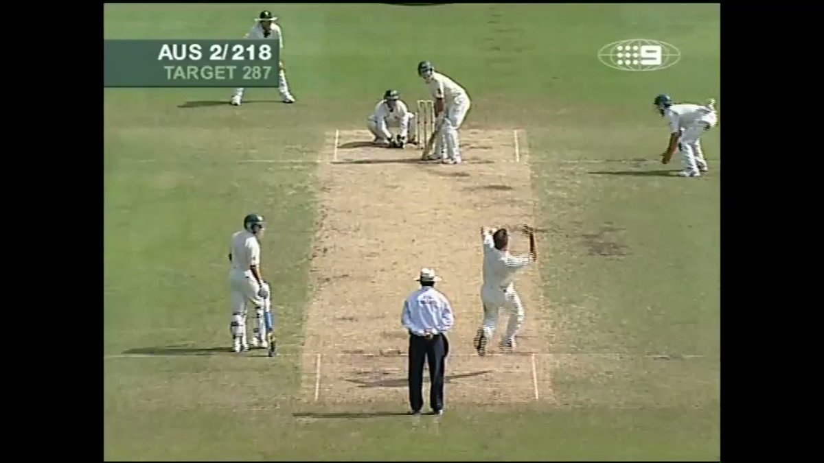 ON THIS DAY, in 2006  One of the greatest batting feats I've ever seen  The ONLY player in test history to score two 100's in his 100th test  Ricky Ponting  And the magical 4th innings ton won the match AND the series, and he did it as captain  Simply 🤩  https://t.co/rNN1AX2Cv4