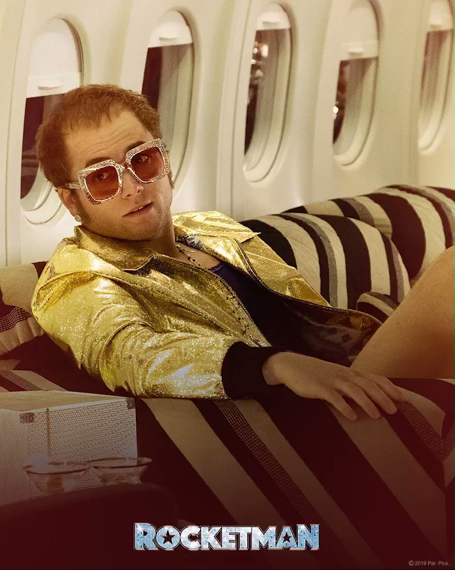 Are you ready for tonight's #RocketmanWatchParty with @PrimeVideo?! Join in at 7pm ET(4pm PT).