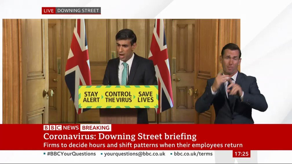 And here is the moment Chancellor @RishiSunak mentions @instituteforgovs new report on coronavirus and unemployment in tonights press briefing. Read the full analysis from @tompope0 @gemmatetlow and @GrantADalton here instituteforgovernment.org.uk/publications/c… twitter.com/tompope0/statu…