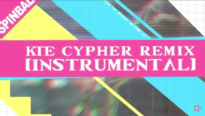 Reminder that the K.T.E Cypher Remix Instrumental is now available to listen to on YouTube!
